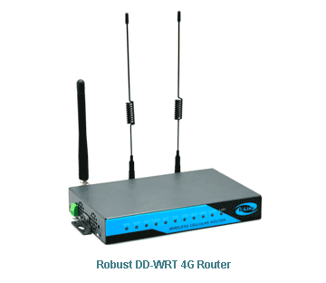 DD-WRT 4G Routers | DDWRT LTE Router | Gigabit Dual SIM > E-Lins
