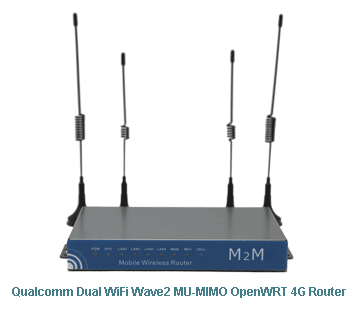 OpenWRT 4G Router | Industrial Dual SIM Openwrt 4G Routers