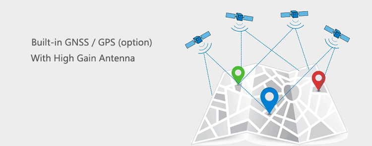 4g router with GPS