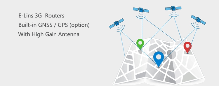 3g router with GPS