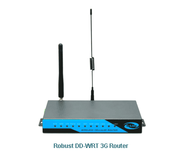 H820 Robust DDWRT 3G Router