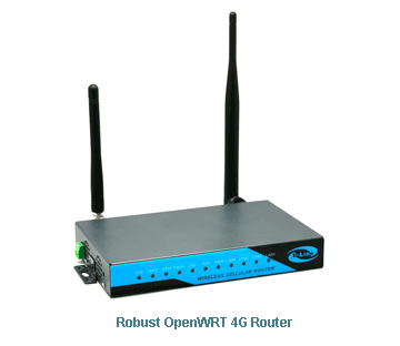 H820 Robust OpenWRT 4G Router