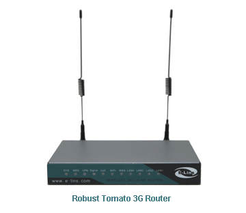 H820 Robust Tomato 3G Router