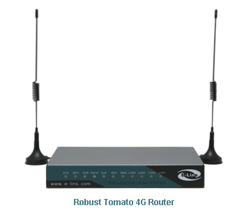 H820 Robust Tomato 4G Router