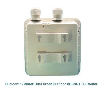 H820QO Qualcomm Water Dust Proof Outdoor DDWRT 3G Router
