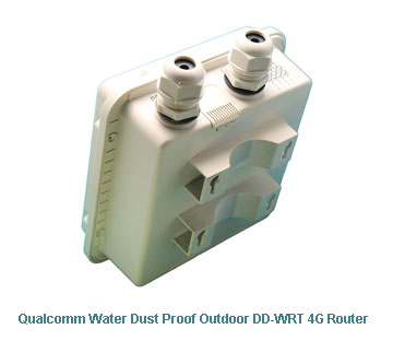 H820QO Qualcomm Water Dust Proof Outdoor DDWRT 4G Router