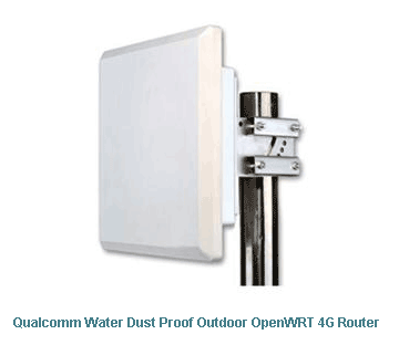 H820QO Qualcomm Water Dust Proof Outdoor OpenWRT 4G Router
