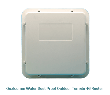 H820QO Qualcomm Water Dust Proof Outdoor Tomato 4G Router